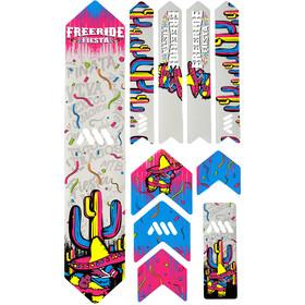 All Mountain Style Extra Frame Protection Kit 10 Pieces, kolorowy